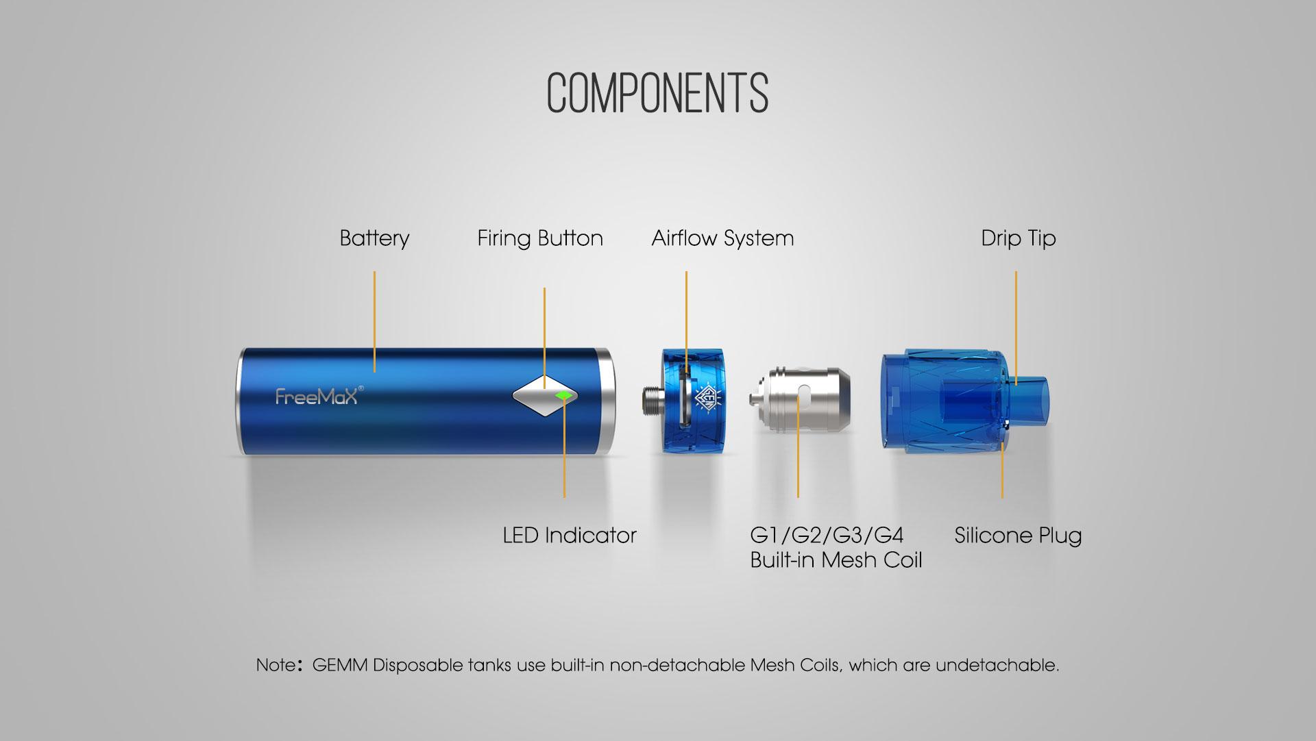 FreeMax Gemm 80W Kit 4