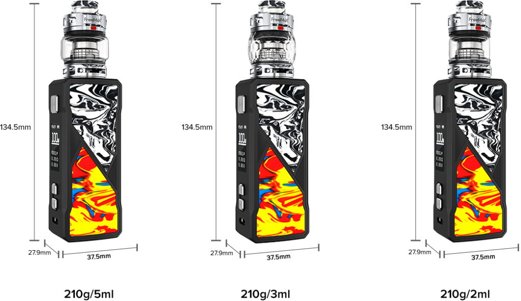 FreeMax Maxus 100W Kit 9