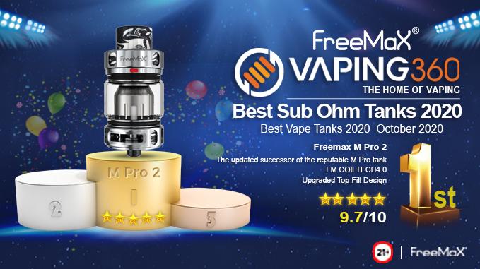 FreeMax M Pro 2 | Best Vape Tanks 2020 October 2020 | 1st