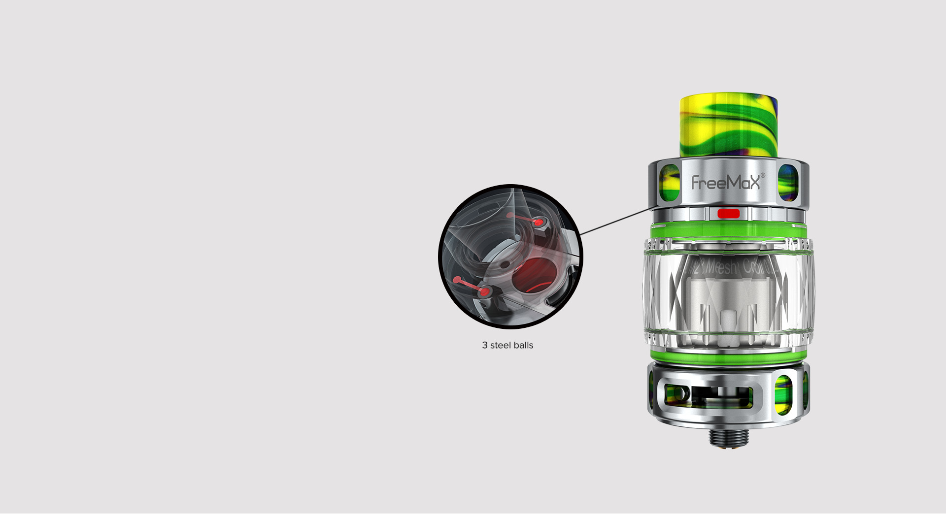 Maxus-200W-Kit-M Pro 2 Tank (Resin Edition)