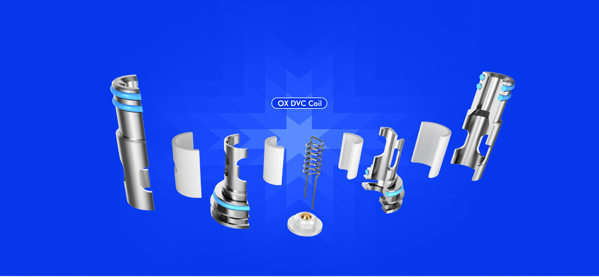 Freemax OX Series Coil Structure - OX DVC Coil