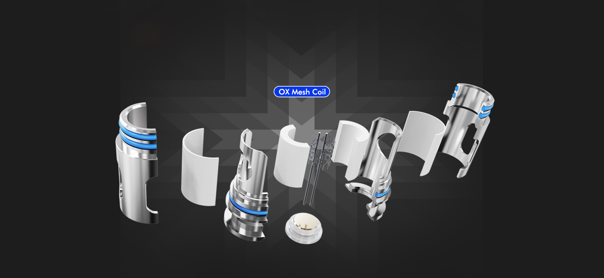 Freemax OX Series Coil Structure - OX Mesh Coil
