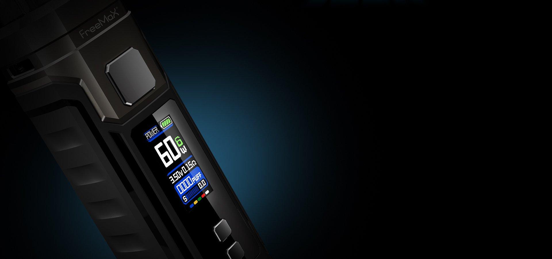 Marvos 60W Kit -modes-power