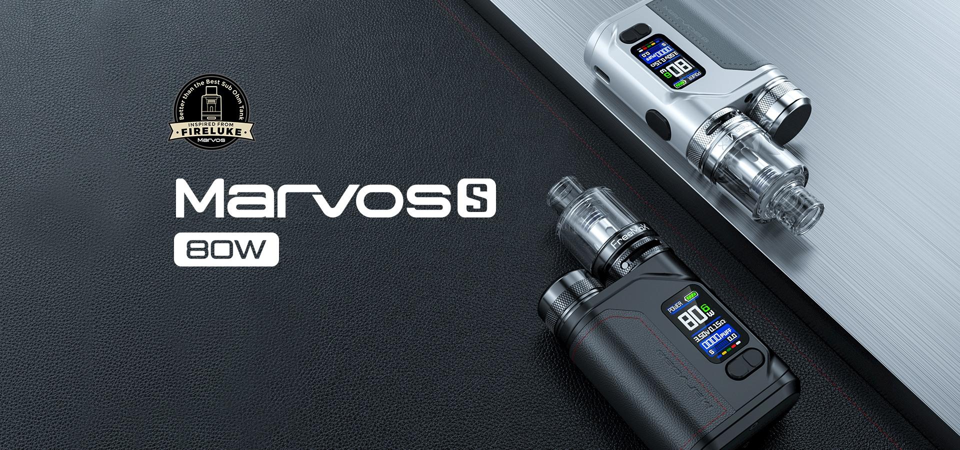 Marvos s 80w kit - banner